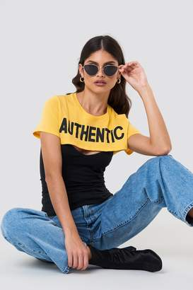 NA-KD Na Kd Authentic Short Top