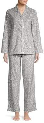 Carole Hochman Two-Piece Printed Pajama Set