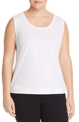 Lafayette 148 New York Plus Scoop-Neck Tank