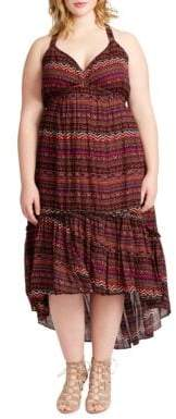 Jessica Simpson Plus Kisha High-Low Dress