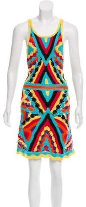 Camilla Sleeveless Crochet Dress