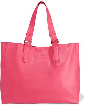 Lanvin - Shopper Leather Tote - Bubblegum $1,095 thestylecure.com