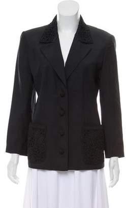Valentino Structured Woven Blazer