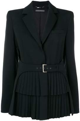 Alberta Ferretti belted fitted jacket