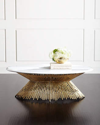 Ambella Sunset Marble Coffee Table