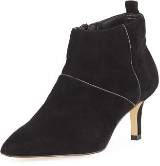 Donald J Pliner Farell Side-Zip Suede Dress Boots