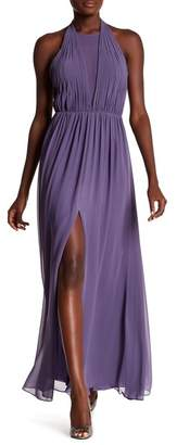 Vera Wang Chiffon Halter Gown $278 thestylecure.com