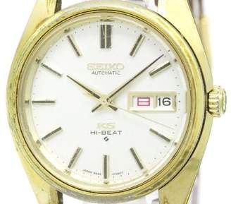 Seiko King 5626-7000 Gold Plated Vintage 36mm Mens Watch