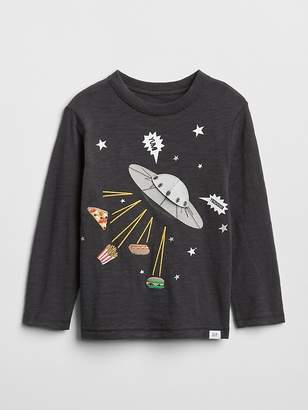 Gap Graphic Long Sleeve T-Shirt
