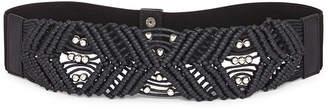JCPenney Amiee Lynn Mixit Woven Center Stretch Belt