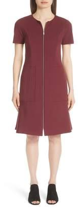 Lafayette 148 New York Sonya Zip Front Dress