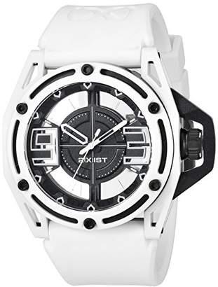 2xist 2(X) IST Men's 2X1-017 NYC Analog Display Analog Quartz White Watch