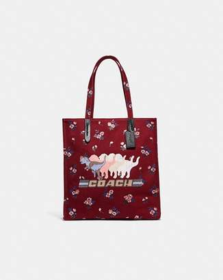 Coach Tote With Shadow Rexy