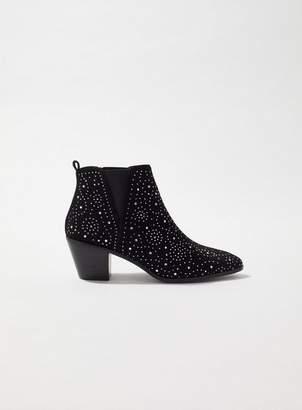 Miss Selfridge Angel studded ankle boots