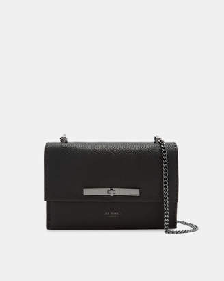 Ted Baker JOCIE Concertina leather cross body bag