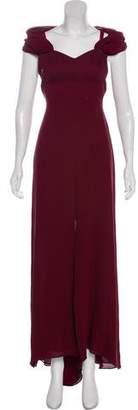 Valentino Silk-Blend Maxi Dress