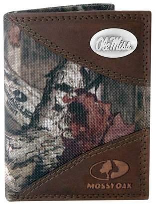 Kohl's Zep-Pro Ole Miss Rebels Concho Mossy Oak Trifold Wallet