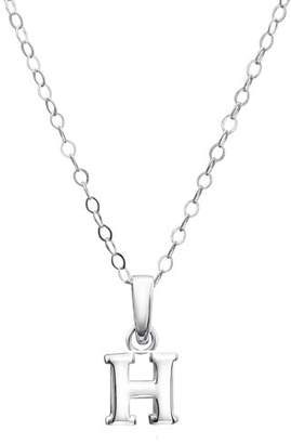 Jo for Girls Sterling Silver Initial H Pendant