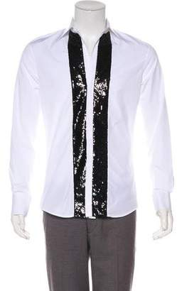DSQUARED2 Embellished Button-Up Shirt