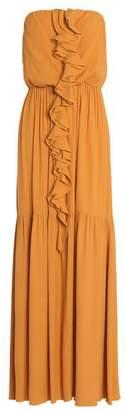 Gold Case Long dress