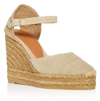 Castaner Women's Platform Wedge Espadrille Sandals