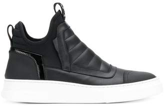 Bruno Bordese slip-on hi-top sneakers