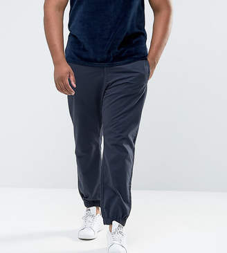 Bellfield PLUS Cuffed Chinos In Navy