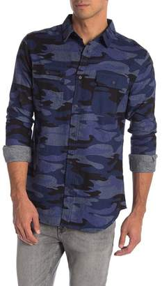 Como Man Camo Long Sleeve Shirt