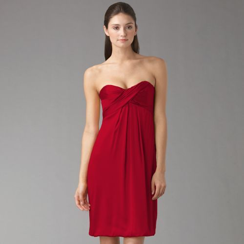 Nicole Miller Strapless Bubble Dress