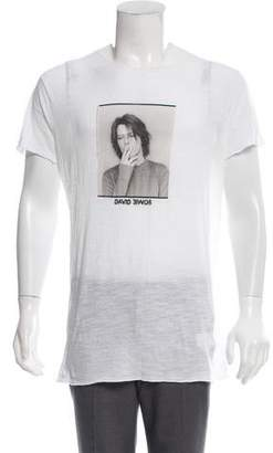 Dolce & Gabbana David Bowie T-Shirt w/ Tags