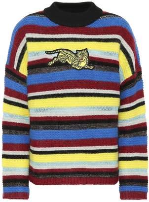Kenzo Striped wool-blend sweater