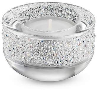 Swarovski Shimmer Tea Light Holder, Clear