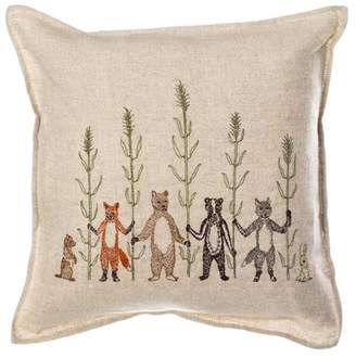 Coral & Tusk Embroidered Pillow Harvest