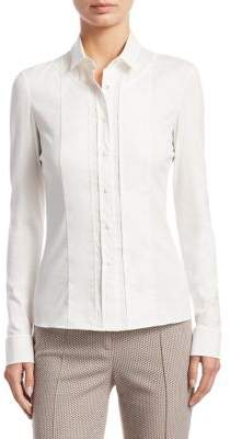 Akris Punto Long Sleeve Blouse