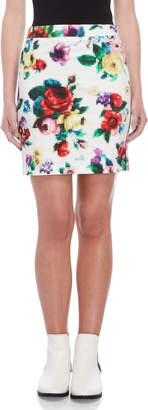 Love Moschino Printed Pencil Skirt