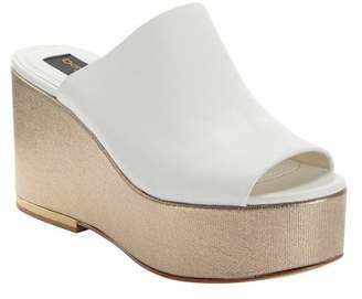 Donna Karan Sade Wedge Platform Mule (Women)