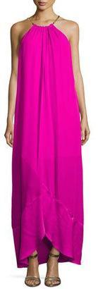 Trina Turk Poinciana Sleeveless Maxi Dress, Pink $398 thestylecure.com