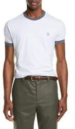 Brunello Cucinelli Marled T-Shirt