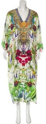 Camilla Silk Printed Maxi Dress