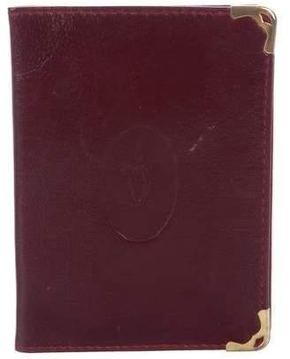 Cartier Leather Passport Holder