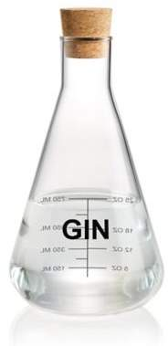 "Artland Mixology Glass 40 oz. ""Gin"" Chemistry Flask Decanter"