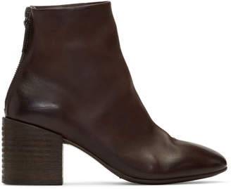 Marsèll Brown Coltello 65 Ankle Boots