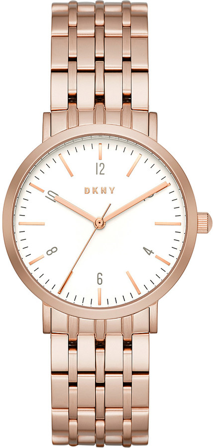 DKNYDKNY NY2504 Minetta rose gold stainless steel watch