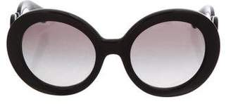 Prada Baroque Oversized Sunglasses