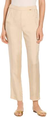 St. John Cupro Double Twill Relaxed Pants