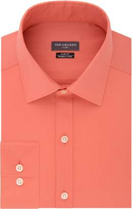 Van Heusen Men's Flex Collar Regular-Fit Pincord Dress Shirt