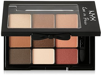 NYX Cosmetics Love in Paris Eye Shadow Palette, Merci Beaucoup, 0.03 Ounce $10 thestylecure.com