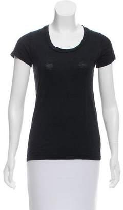 Etoile Isabel Marant Short Sleeve Linen Top