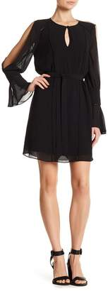 Haute Hippie Bessie Cutout Sleeve Dress