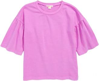 J.Crew crewcuts by Gathered Sleeve Tee
